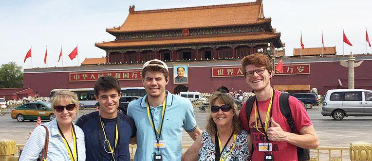Take a morning walk at the venue of the grandiose Tiananmen Sqaure