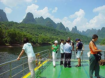 Fantastic Li River cruise, Guilin