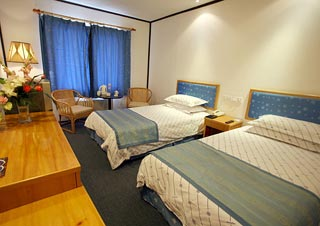 Standard Twin Room Of South Building Hotel Amenities