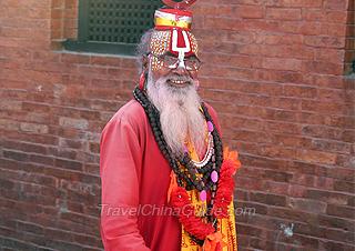 A Sadhu in Katmandu