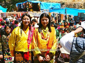 Local people in Bhutan